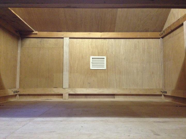 リノベ前の室内