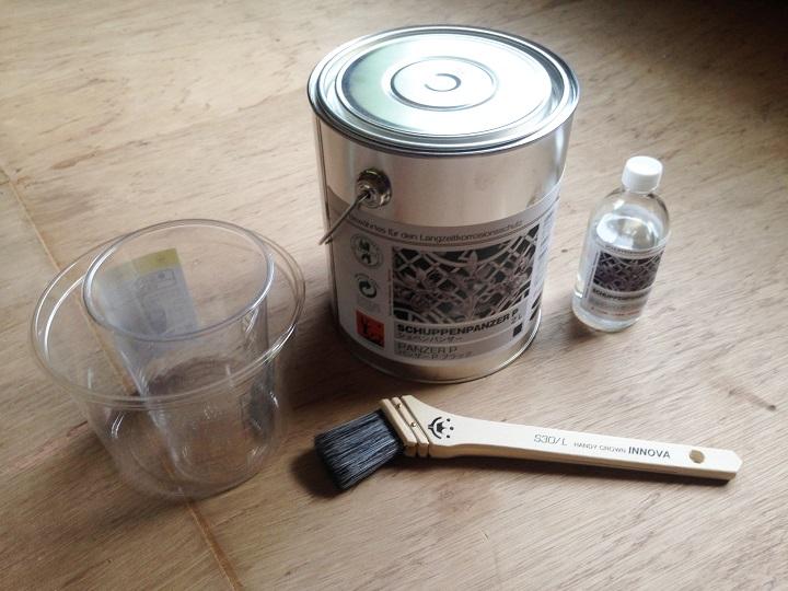 アイアン塗料と塗装道具
