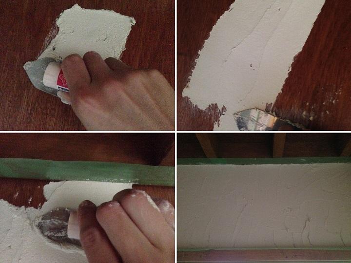 「けいそうリフォーム」を壁に塗る