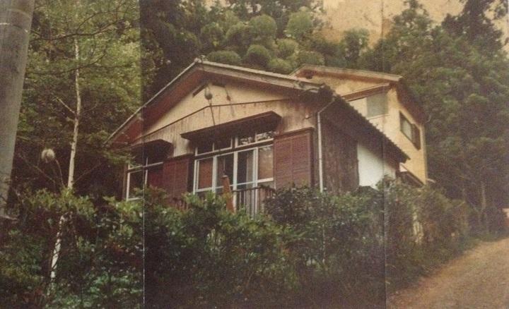 30年ほど前の山小屋(母屋)