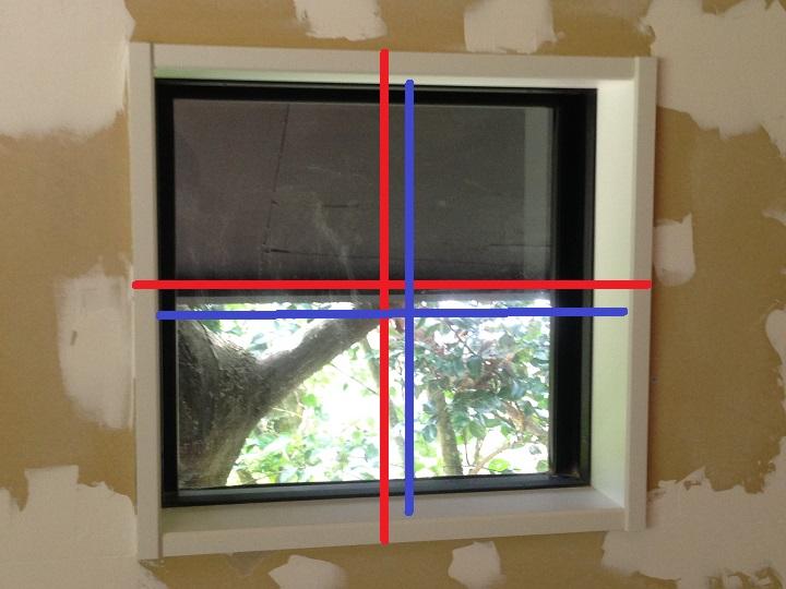 窓のサイズ