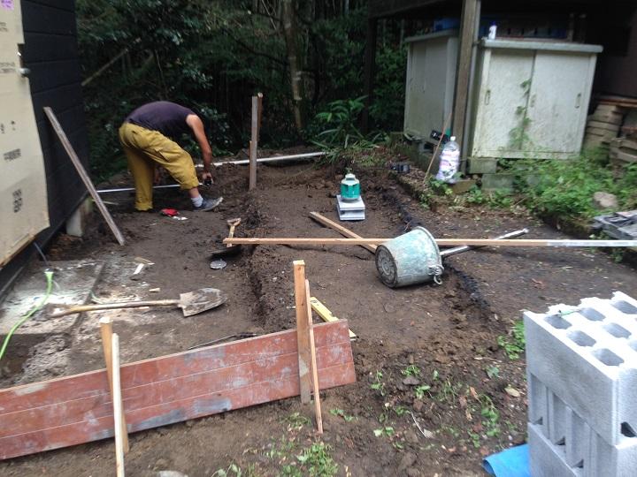 3段の土台を作る
