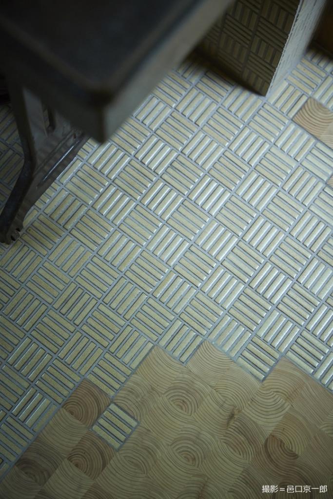 床のミックスタイル