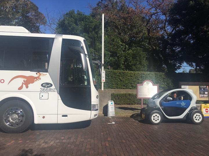 日産ニューモビリティコンセプトと大型バス