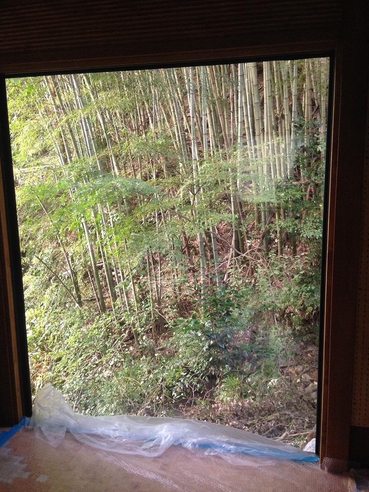 修正後の窓からの眺め