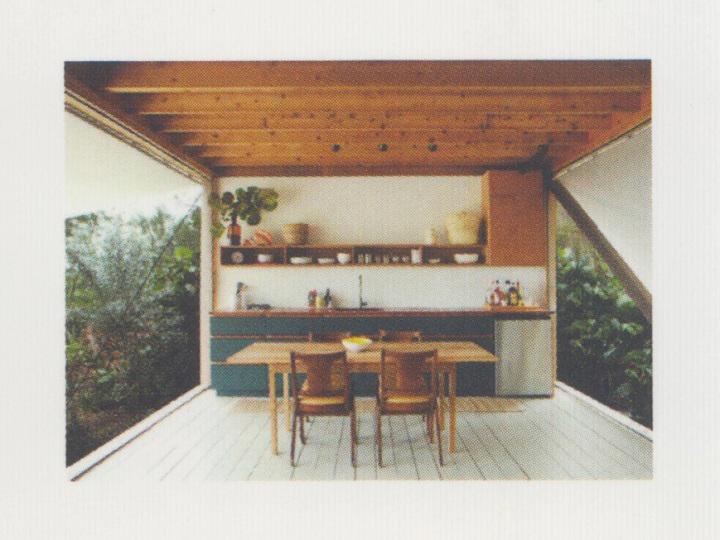 バハマの小屋(Brillhut)