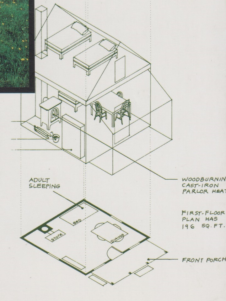 小屋の図面