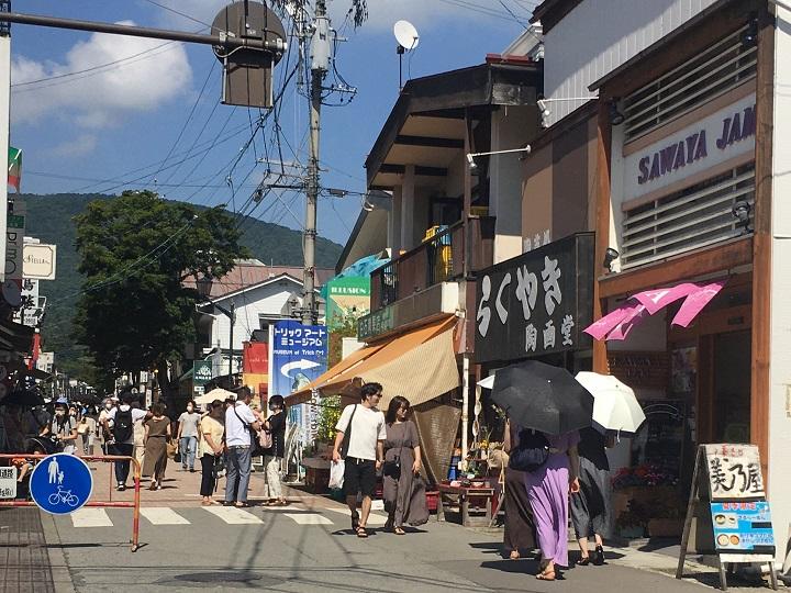 軽井沢銀座商店街