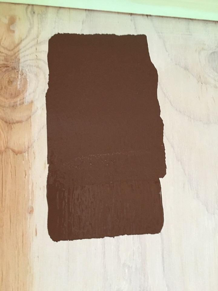 珪藻土ペイントを塗った