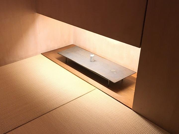 床の間の間接照明