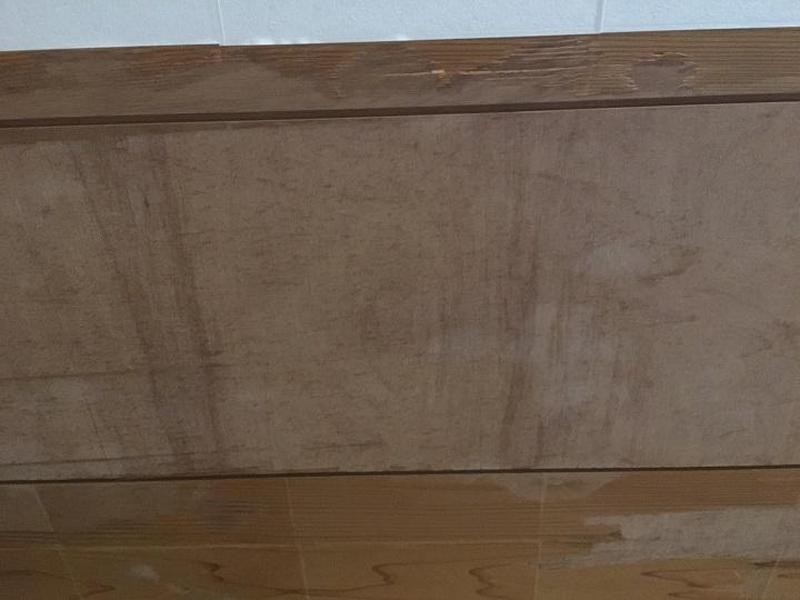 天井の下地の板