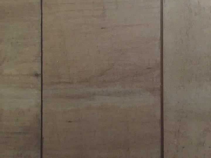 壁紙を剥がし終わった天井の質感