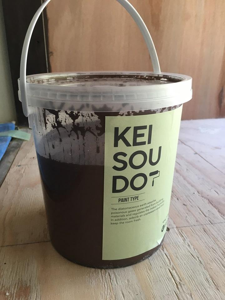 「U SELECT」の「珪藻土塗料(KEISOUDO-PAINT)」