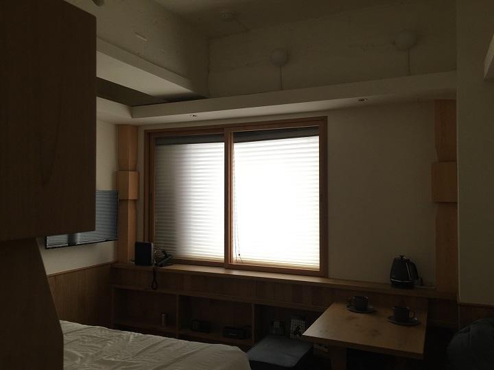 電気を消した701号室