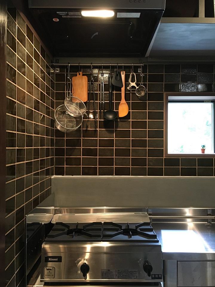 GRUNDTALのレールとキッチンツール