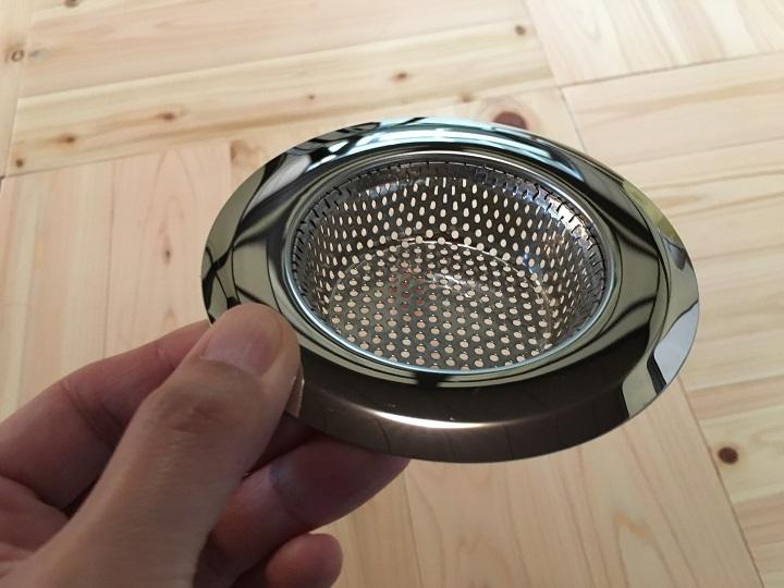 ステンレス製のゴミキャッチ皿
