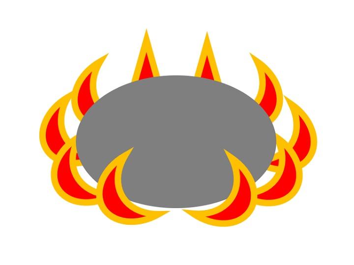 外炎式バーナーイメージ図