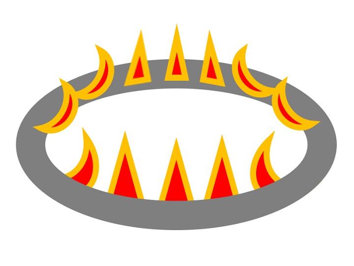 内炎式バーナーイメージ図