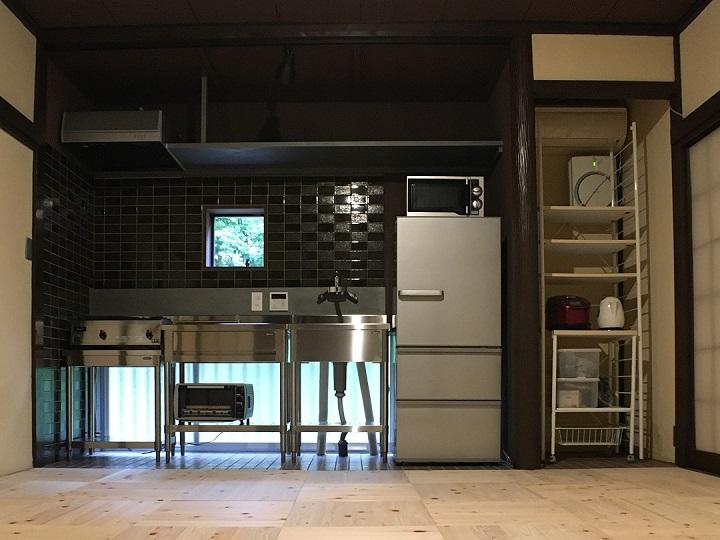完成後のキッチン
