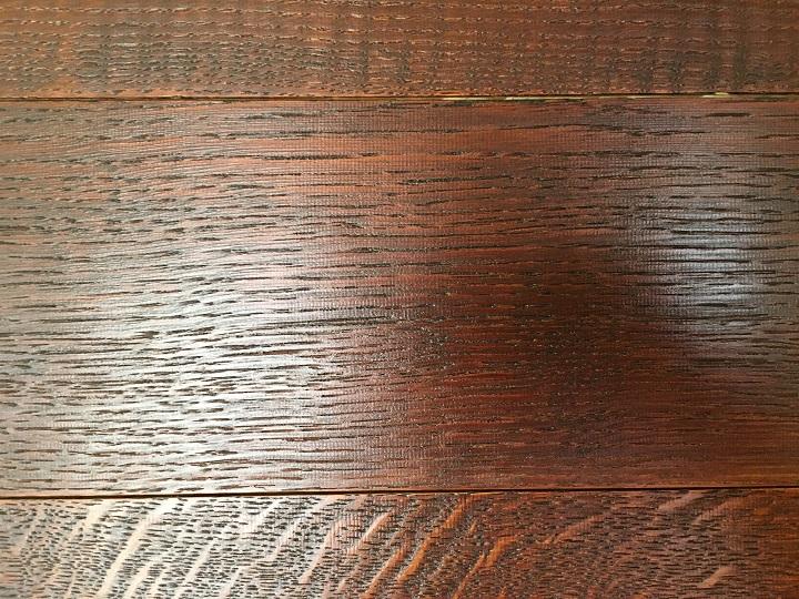 スライスウッドの木目