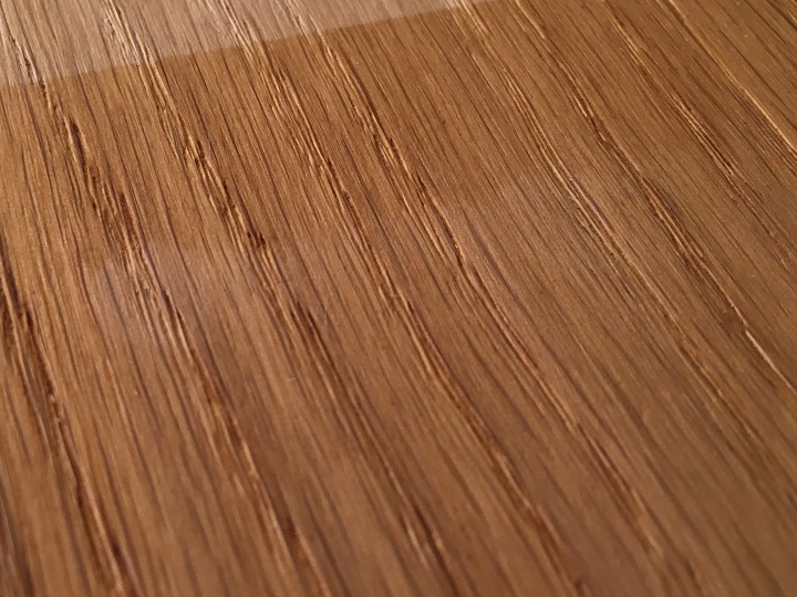 水によるワトコオイルの色落ち