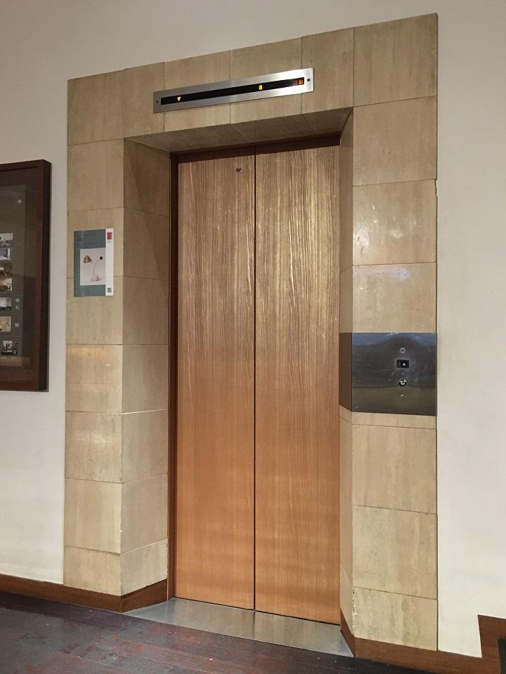 ホテルクラスカのエレベーター