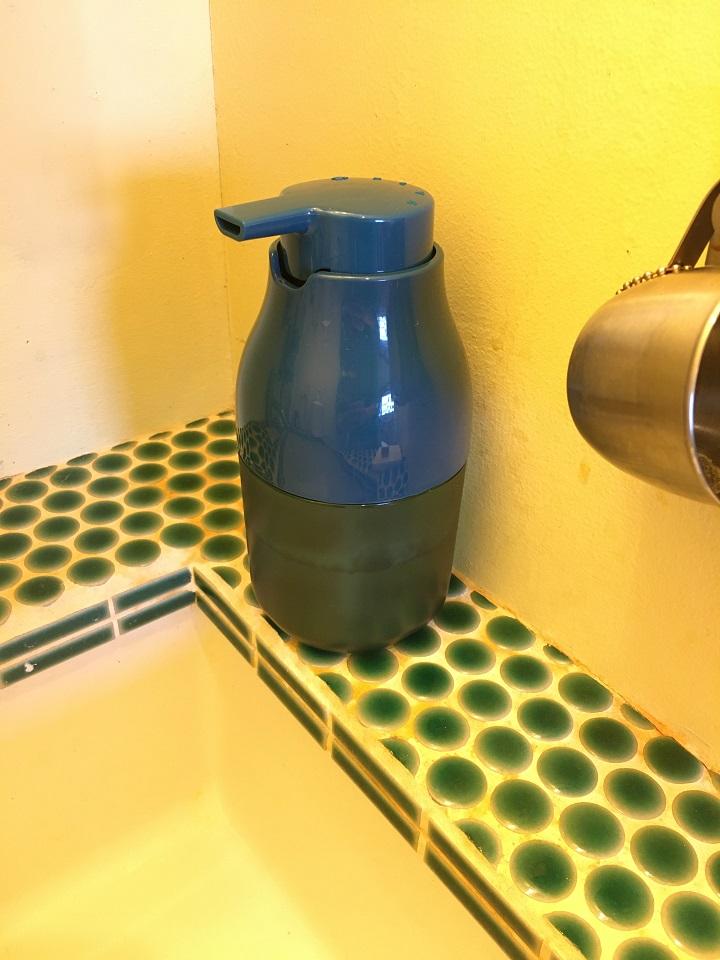 洗面のソープディスペンサー