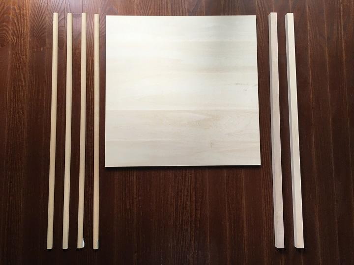 東急ハンズで買ってきた木材
