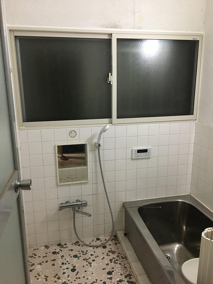 浴室の二重サッシ