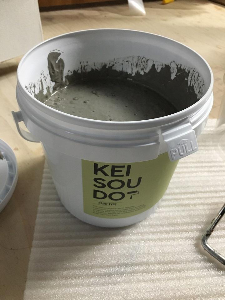 珪藻土塗料のクラウド